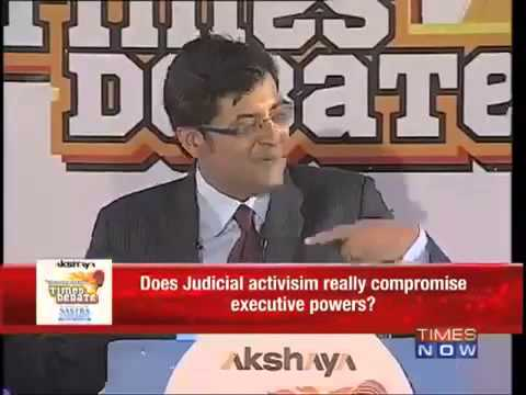 Dr Subramanian Swamy on Does Judicial activism really compromise executive powers