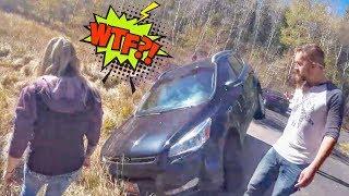 Stupid, Crazy & Angry People Vs Bikers 2018 [Ep.#599] BAD DRIVERS
