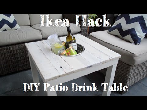 Kühltisch für die Terrasse - Coole Drinks immer griffbereit