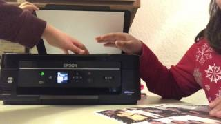 How to make a copy on the Epson printer