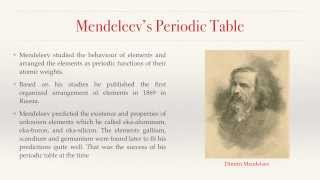 Brief History of the Periodic Table | Introductory Video