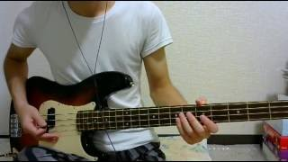 【bass cover】 Face To Face - Burden