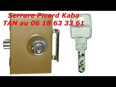 comment changer une serrure kaba expert trident?