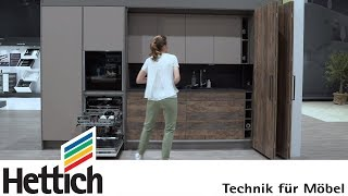 Drive for cooking convenience! Kitchen full of ideas by Hettich