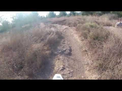 Single trail ride aboard Husqvarna FE450 2020 - Israel 12.10.19