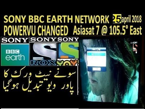 Sony Network 2019 NDS Software Updates | AsiaSAT 7 Powervu