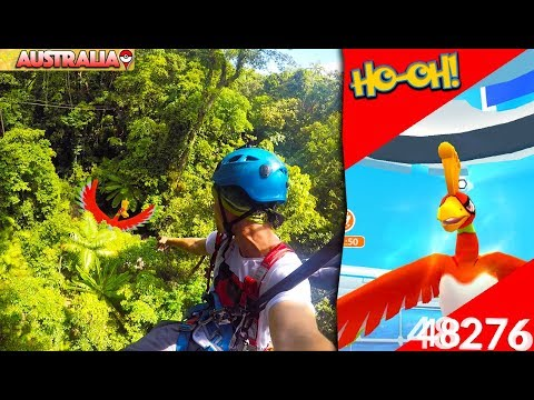 POKÉMON GO IN THE JUNGLE + HOW TO DEFEAT HO OH!