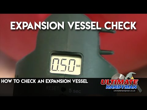 How to check an expansion vessel