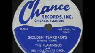 "Video thumbnail of ""FLAMINGOS  Golden Teardrops  SEP '53"""