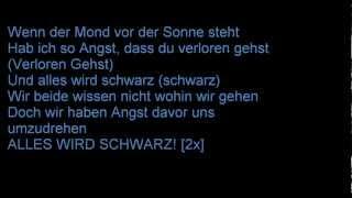 Metrickz & Der Asiate + ALLES WIRD SCHWARZ (LYRICS ON SCREEN) + HD