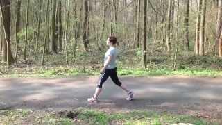 Jak se protáhnout před během, dynamický stretching