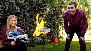 Can you bake a cake using a Flamethrower?