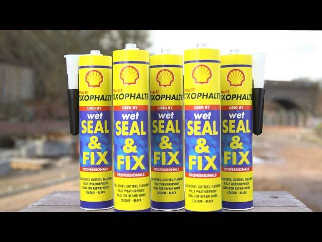 instructievideo Shell Tixophalte Wet Seal & Fix 310ml