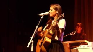 Christina Perri - Run live the Ritz, Manchester 22-11-14
