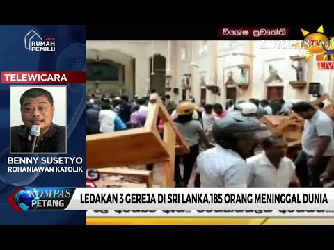 Ledakan 3 Gereja di Sri Lanka, 185 Tewas