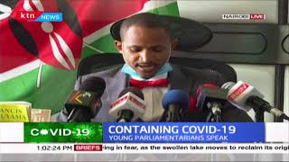 Babu Owino leads young parliamentarians in address over COVID-19 mitigation measures