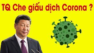 Tại sao Trung Quốc che giấu dịch bệnh  ?