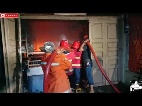 Kebakaran di Kota Kisaran, Satu Ruko Nyaris Ludes Dilalap Sijago Merah