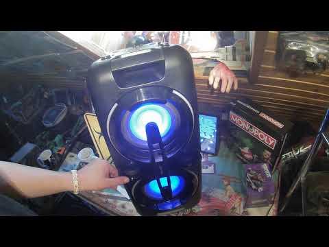 Telefunken Bluetooth Party Speaker - Lautsprecher mit LED-Lichtshow »BS1017 Test Soundcheck«