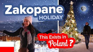 Poland's Winter Wonderland. This is Zakopane. Christmas in the Mountains.