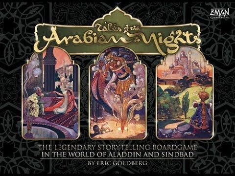 The Purge: # 1856 Tales of the Arabian Nights: Have you ever wanted to play a 2 hour game where you make random decisions and read a book to your friends? Well, do I have the game for you!