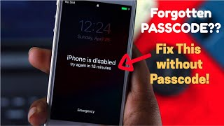 How to Remove Forgotten PASSCODE iPhone 5S, 5C, 5 [Bypass LockScreen]