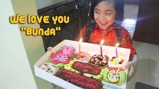 Surprise Sederhana Ulang Tahun Bunda Dapat Kue Donat Karakter My Little Pony