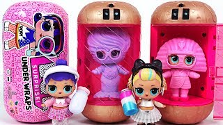 Trapped in Capsules! Jelly Layer LOL Surprise Under Wraps Blind Bag with Pororo - PinkyPopTOY