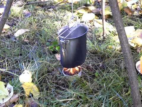 Buddy burner test - prova bruciatore a cera