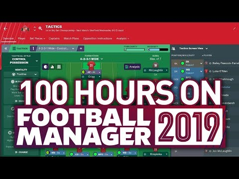 WHAT I HAVE LEARNED AFTER 100 HOURS ON FOOTBALL MANAGER!
