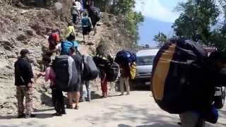 preview picture of video 'Paragliding in Pokhara'