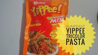 SUNFEAST YIPPEE TRICOLOR PASTA-sunfeast pasta recipe