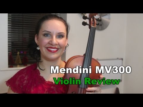 $67 Violin Review – Mendini MV300 FANTASTIC!!