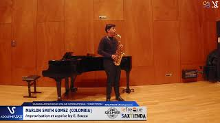 Marlon SMITH GOMES plays Improvisation et caprice by E. Bozza #adolphesax
