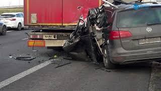 Wypadek śmiertelny Na A1