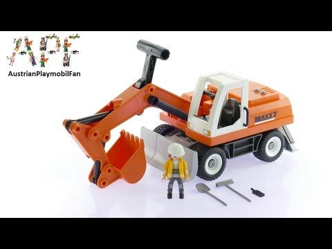 Vidéo PLAYMOBIL City Action 6860 : Tractopelle avec godet
