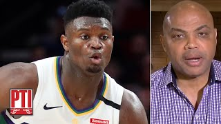 Zion Williamson is more explosive than I was – Charles Barkley | Pardon the Interruption