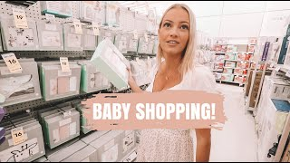 BABY SHOPPING! BUYING BABY ITEMS AT 19 WEEKS PREGNANT... *AUSSIE MUM VLOGGER*