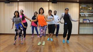 Zumba Routine 'I need Your Love , Shaggy Feat Mohombi , Faydee and Costi By Vijaya