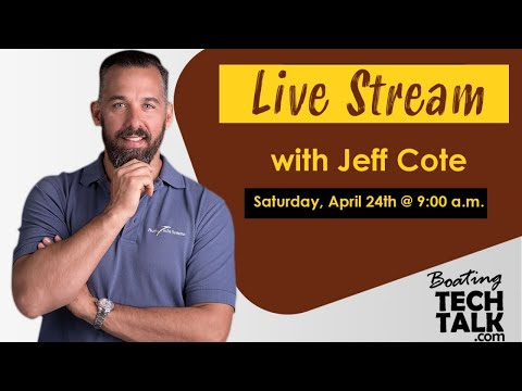 Live Stream with Jeff Cote - April 24, 2021