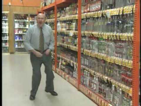 Crazy Bruce Liquor Store Commercial is Crazy