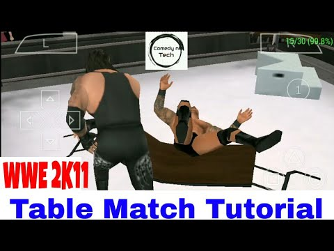 Download Wwe 2k11 how to win table match on Android||Smack vs Raw(svr) HD Mp4 3GP Video and MP3