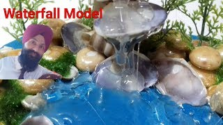 How To Make A Waterfall Model With Real Water Free Video Search