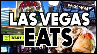 What's New to Eat in Las Vegas RIGHT NOW