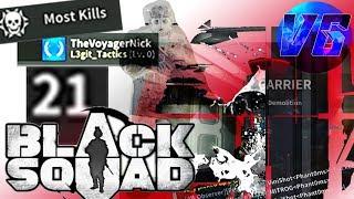 """""""NICE HACK"""" 21KDR PRO SIPER [Black Squad] CARRIER"""