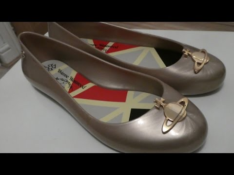 Vivienne Westwood x Melissa Space Love 16 Gold Pearlized Orb Unboxing