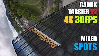 CADDX TARSIER V2 | 4K 30FPS | SUB 250G FPV | GEPRC CINEQUEEN