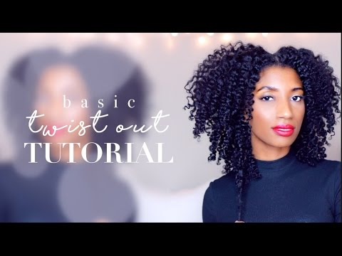 Super EASY Flat Twist Out on Natural Hair Tutorial