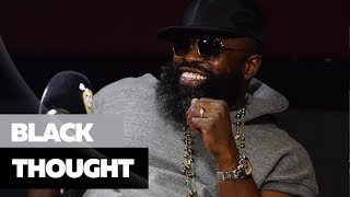 Ebro In The Morning - Black Thought On Beef, Spits A NEW Freestyle + Says 'You Can't Be Top 5 If You Don't Write'