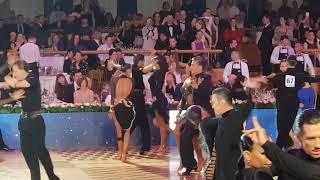 Ostin Joson  & Nino Dzneladze Samba 1/2 Kremlin Cup Amateur Latin